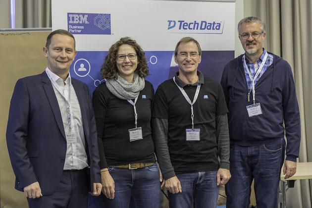 DeafIT Konferenz 2017: DeafIT-Team mit dem Premium-Sponsor TechData