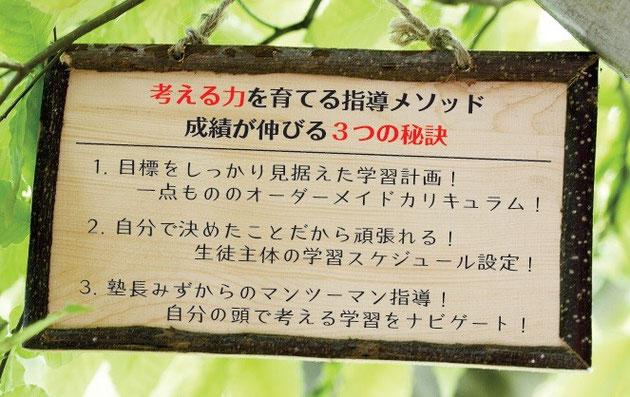 京橋、城東区蒲生の個別指導学習塾アチーブメント、特徴