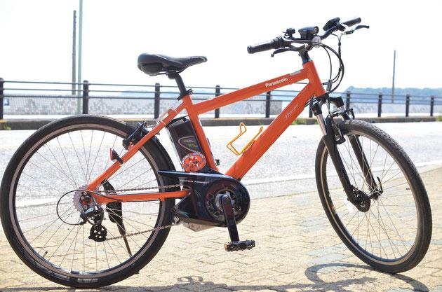 電動クロスバイク レンタサイクル 神奈川