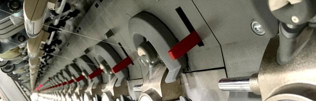 rotor spinning frame, ceramic nozzles