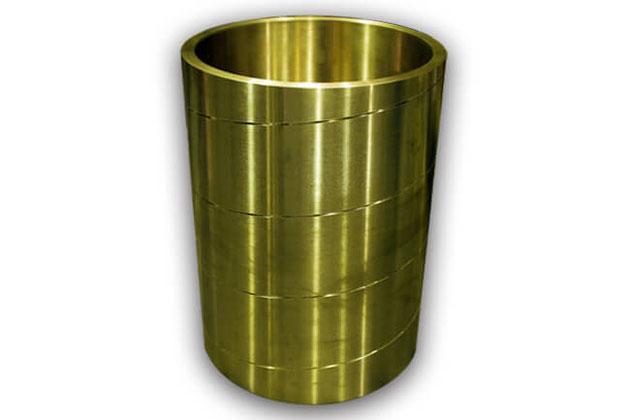 真鍮油溝加工
