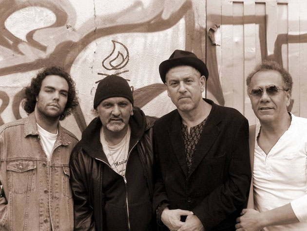 Blooze Gurus (Rodrigo Iragorri Obregón, Hernando Becerra, Douglas Ceballos, Gerardo Sánchez)