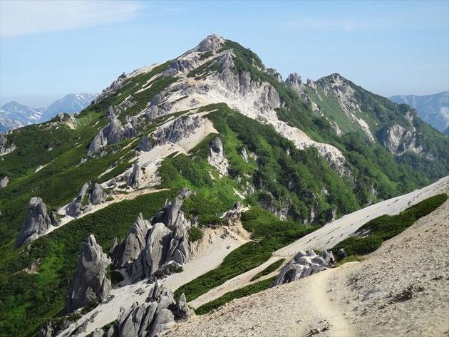 北アルプスの女王 燕岳 2,763m