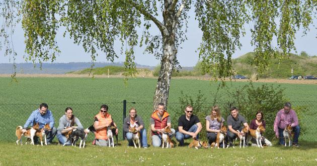 v.links Fam. Kemmer, Fr. Grewe, Denisa, Hr. Schweinfurth, Tobias, Susanne, Stephan und Fam. Schaber