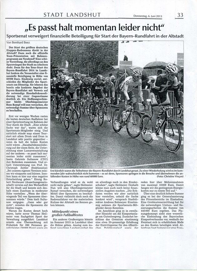 Quelle: Landshuter Zeitung vom 06.06.2013