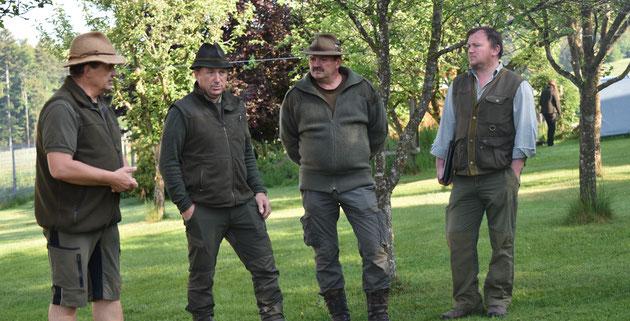 Das Leistungsrichter Team in Nebelberg