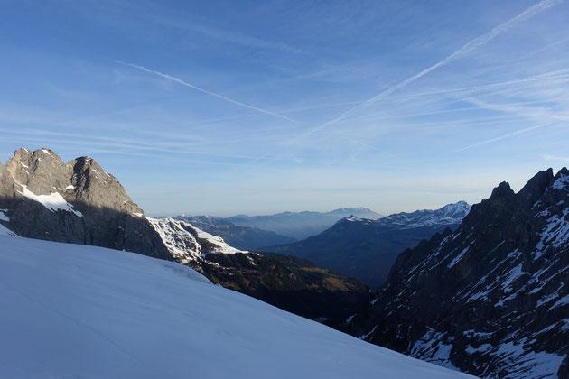 Skitour Wetterhorn, Skihochtour Wetterhorn, Rosenlaui, Rosenlauigletscher, Engelhornhütte, Dossenhütte
