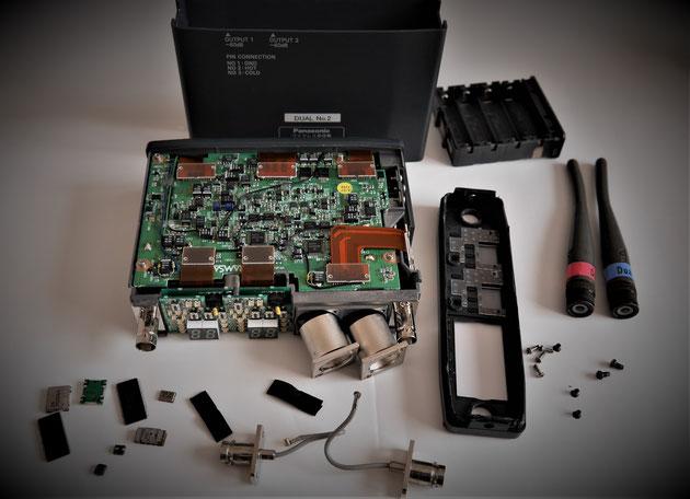 Panasonic RAMSA WX-RJ800修理途中