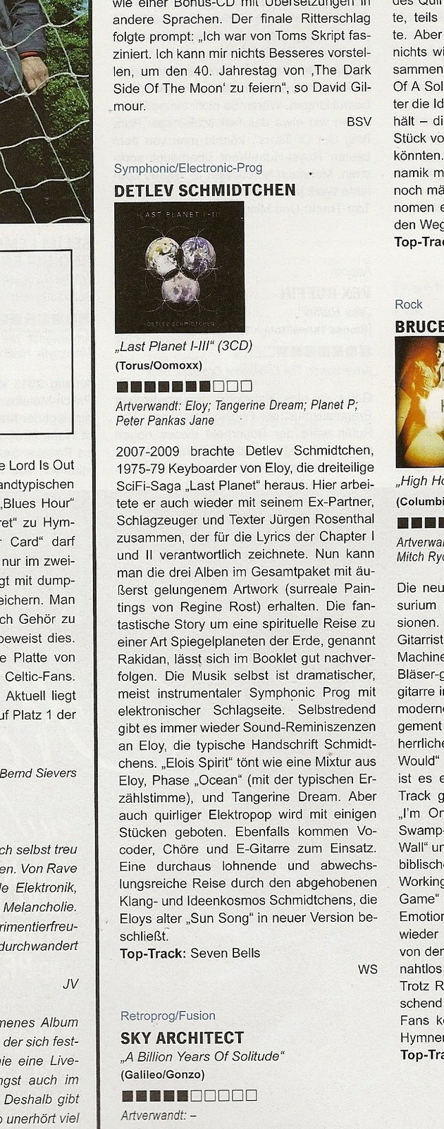 Artikel über Last Planet Box