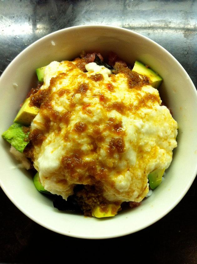 アボカド 山芋 マグロ レシピ