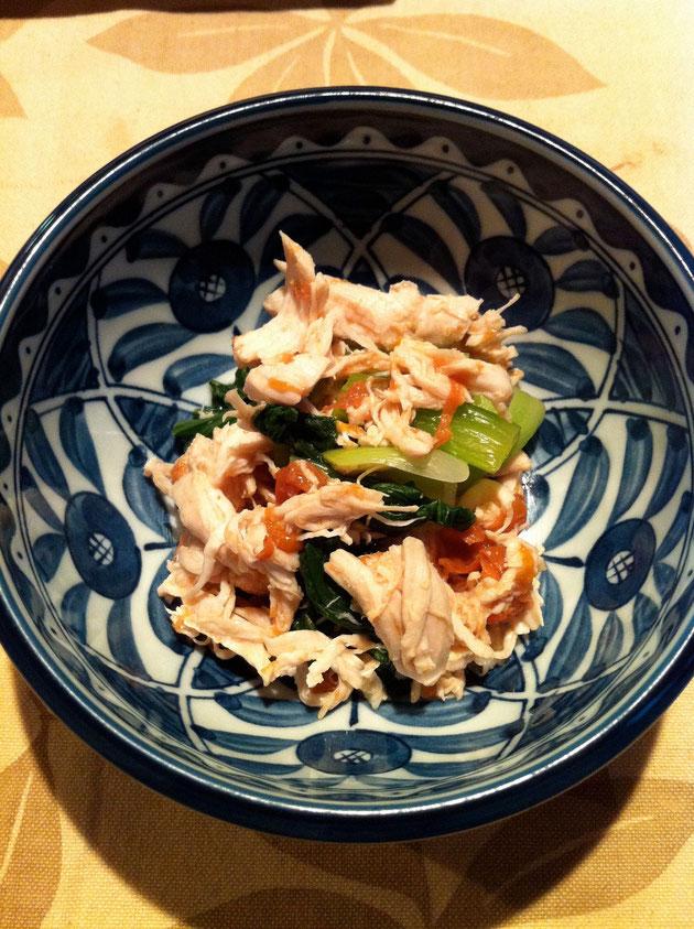 チンゲン菜 レシピ