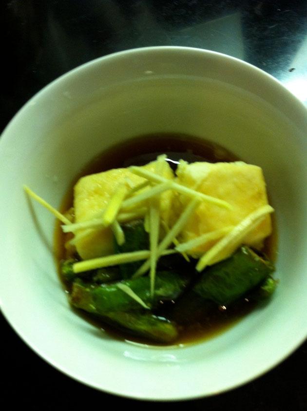 揚げ出し豆腐 ししとう レシピ