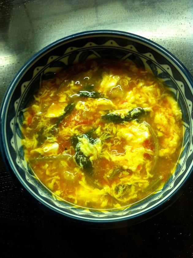 トマト セロリ ほうれん草 スープ レシピ