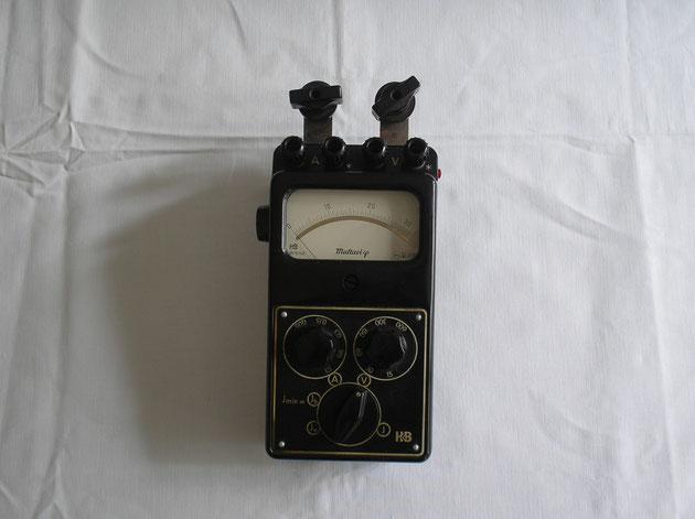 Hartmann & Braun Universal Instrument Wechselstrom Typ. Multavi phi