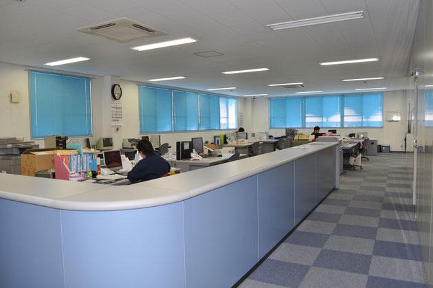 日本本社の2階事務所のイメージです。