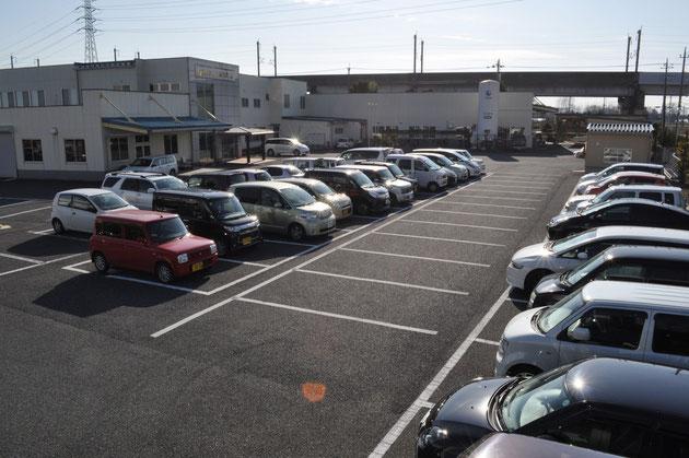 日本本社の駐車場のイメージです。