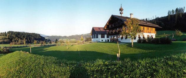 Vrijblijvende vakantie aanvraag op de familie boerderij Steinbachgut