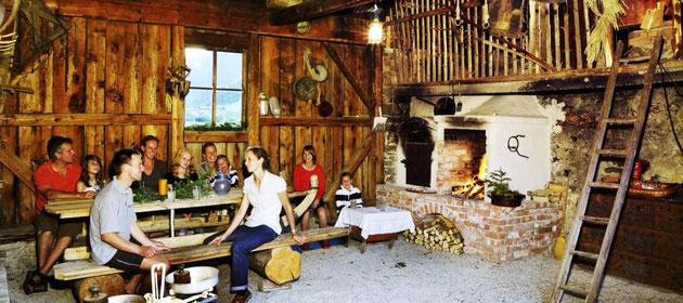 barbecue hut Steinbachgut – vakantie op de boerderij