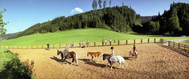 Vakantie op de boerderij in Flachau