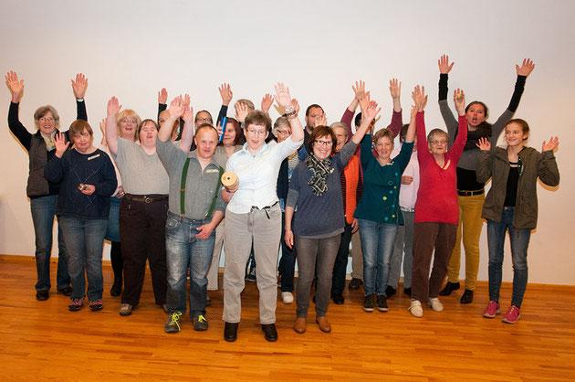 Inklusionschor Löffingen (Copyright: Annette Scherzinger)