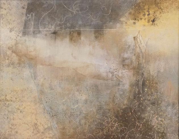 「万能感」   910×1167㎜     岩絵具、水干絵具、高知麻紙