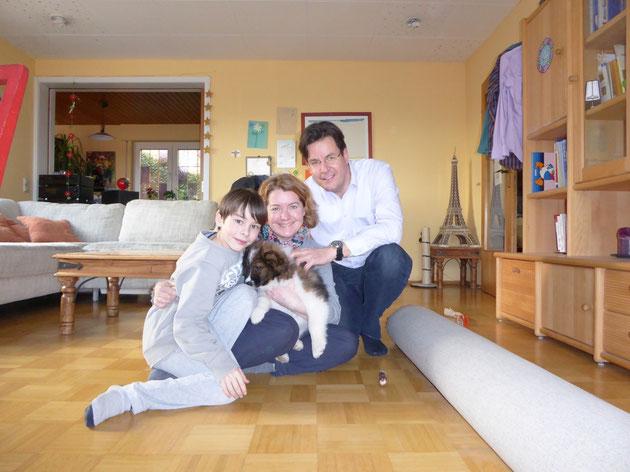 in dieser Familie hat Cadinka nun ihren Wirkungskreis!