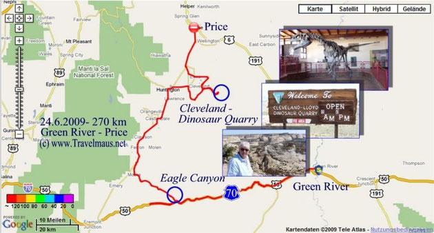 24.6.2009 Green River - Price 270 km