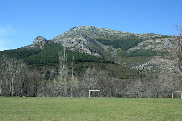Vistas del Ocejón desde las eras de Valverde