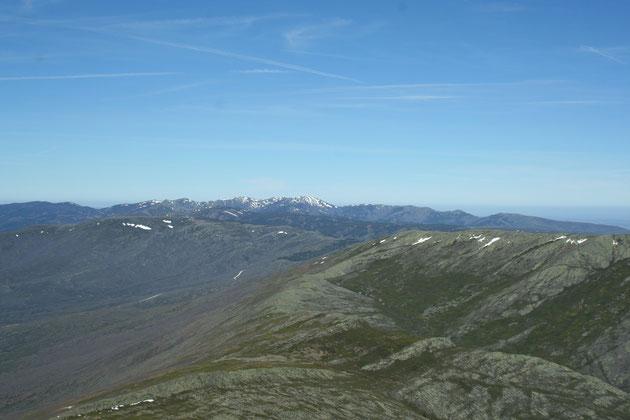 Pico de la Buitrera al fondo