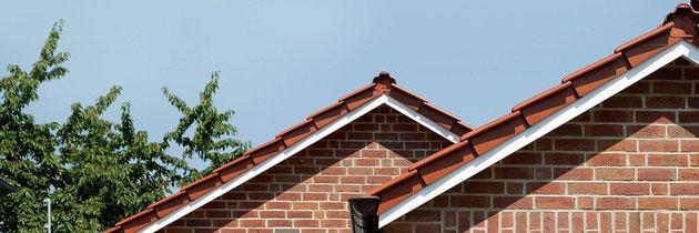 Dach, roter Verblender, Ibbenbüren