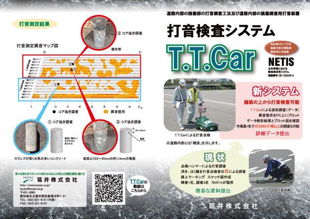 打音測定システムT.T.CARカタログダウンロード