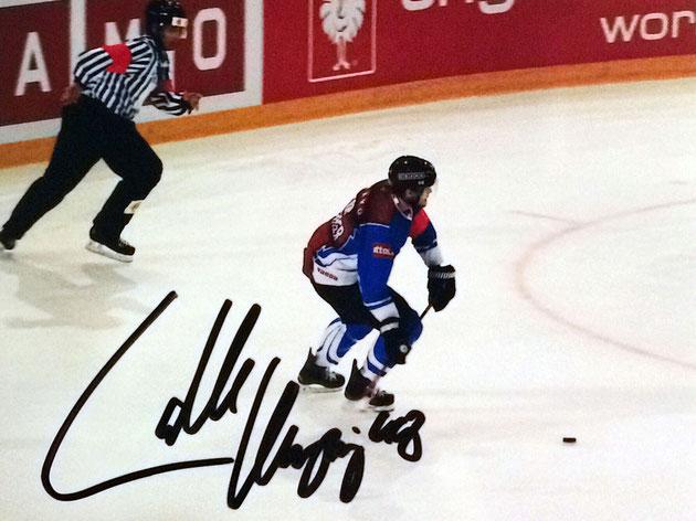 Carl Klingberg Autograph Autogramm