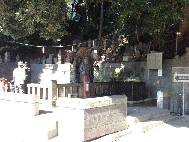 2014/10/19 次にお参りしたのは「五百羅漢寺」ですが・・・。撮影禁止という事で写真なしです。こちらは目黒のお不動様になります。