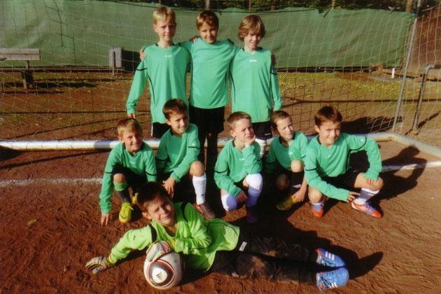 Foto 1: die Fußballmannschaft 2013/2014