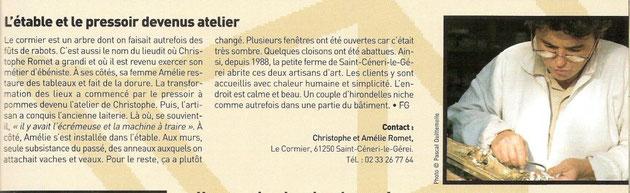 Article de Village Magazine