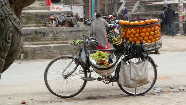 Le supermarche de fruits