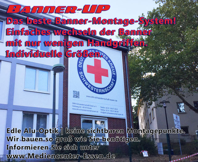 Banner UP Bannermontagesystem