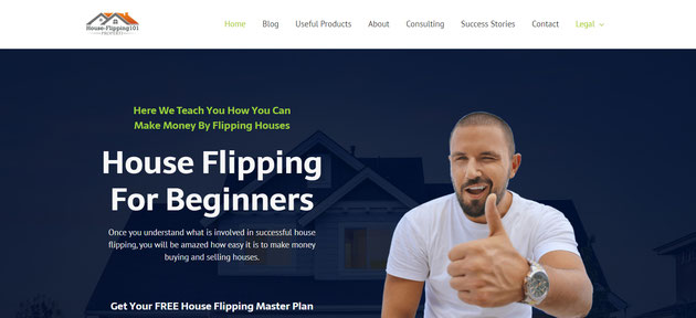 house flipping webseite