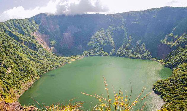 Lagune du cratère du Volcán Cosigüina
