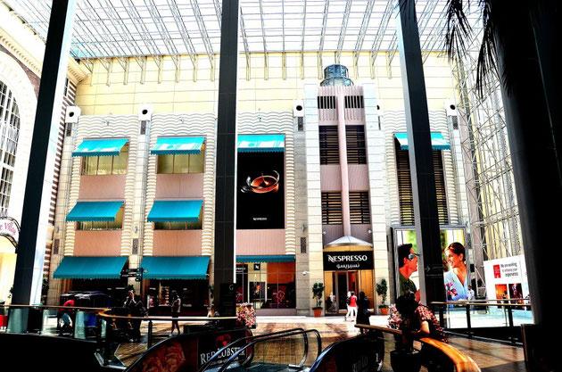 Dubai Mall: Leicht mediterraner Touch