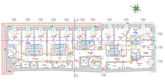 Exemple de plan d'intérieur
