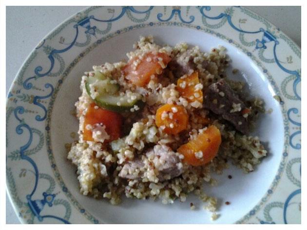 Quinoa boulgour