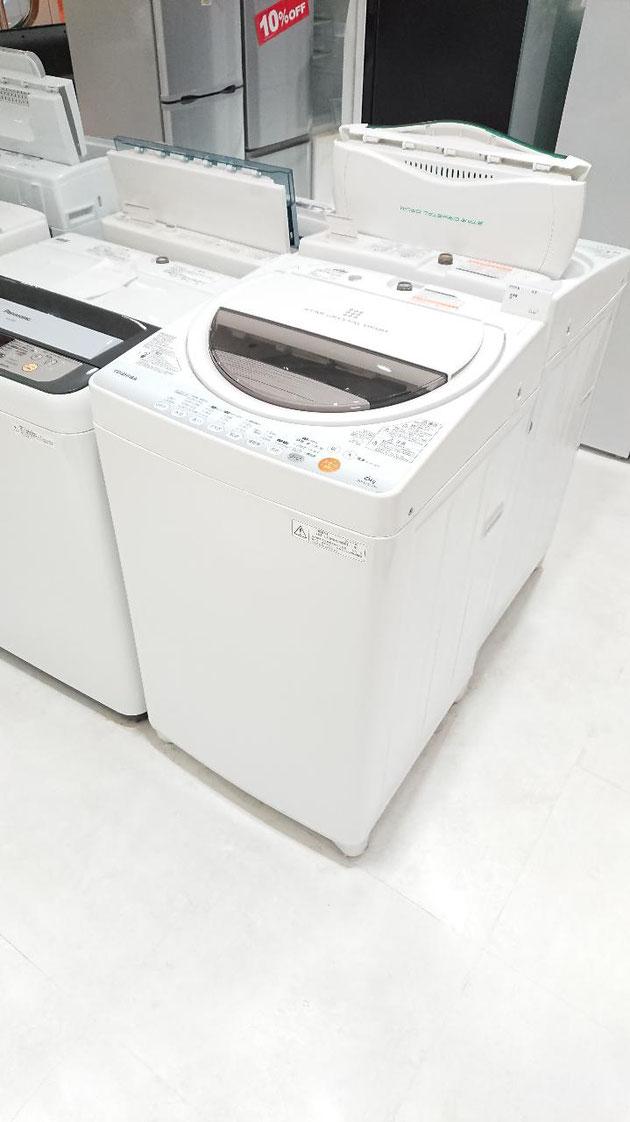 分解清掃済み中古リサイクル洗濯機