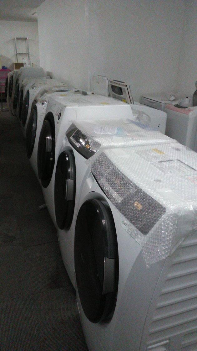 ドラム式洗濯機などのファミリー家電が充実