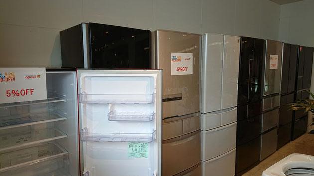 家電専門店ならではの品揃え冷蔵庫