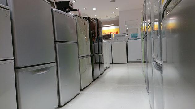 単身向けリサイクル冷蔵庫