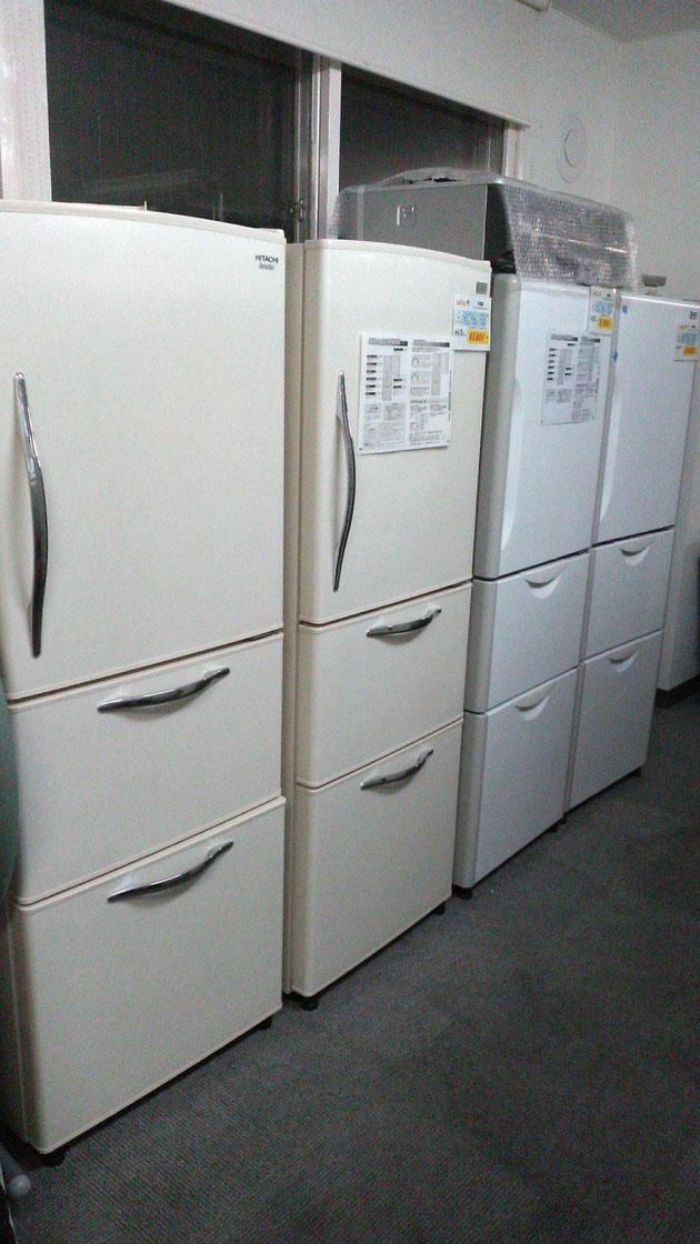 ファミリー向け冷蔵庫も中古でお買い得◎札幌でも1店舗当たりの保有台数トップクラス