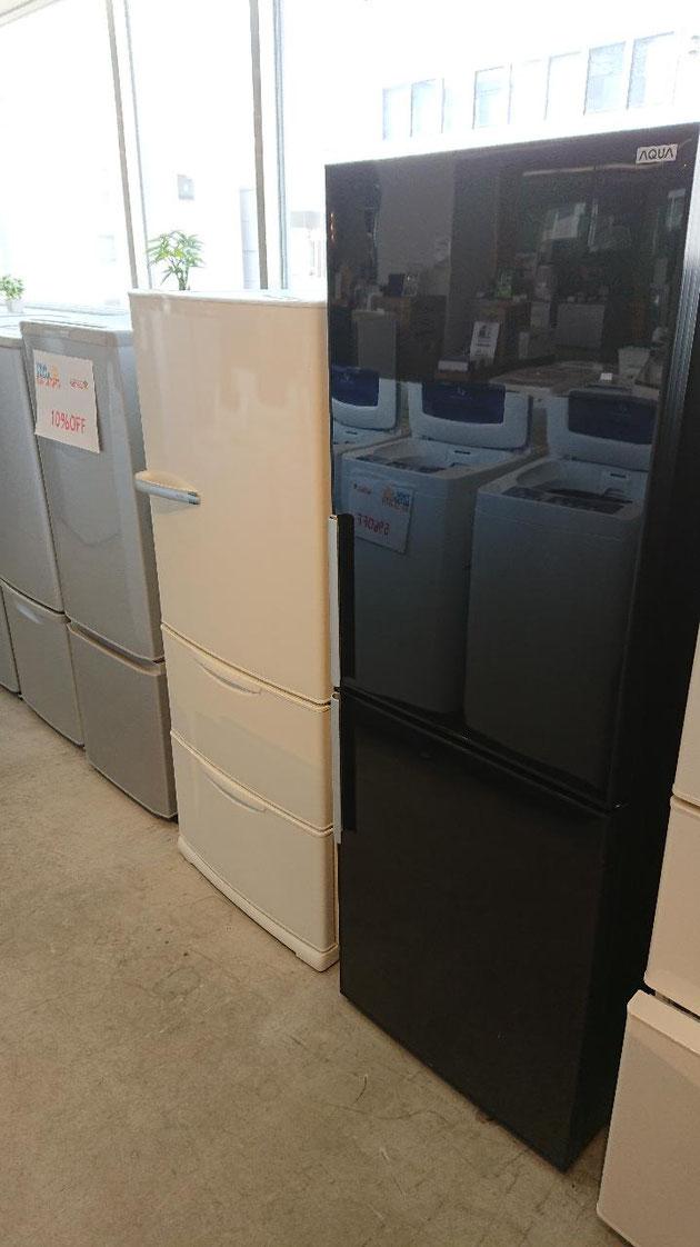 人気サイズの冷蔵庫