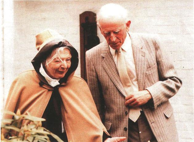 Marguerite Yourcenar et Louis Sonneville