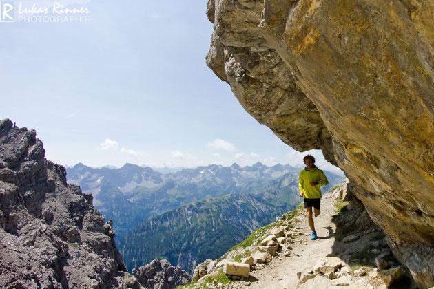 Richtung Hochvogel 2593m, Allgäuer Alpen